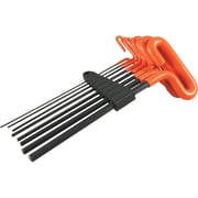 "Dynamic Tools 8 Piece 9"" Long Loop Handle, SAE Hex Key Set, 5/64"" - 3/8"""