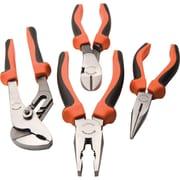 Dynamic Tools 4 Piece Plier Set, Comfort Grip Handles