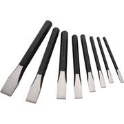 Dynamic Tools – Ensemble de ciseaux, 8 pièces, 1/4 po à 1 po