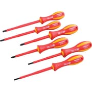 Dynamic Tools 6 Piece Insulated Screwdriver Set, Slotted & Phillips®