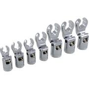 Dynamic Tools – Ensemble de douilles à écrou évasé SAE avec prise de 3/8 po, 7 pièces, 3/8 - 3/4