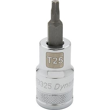 Dynamic Tools – Douille Torx Head de 1/2 po, mèche T27, longueur standard, fini chromé