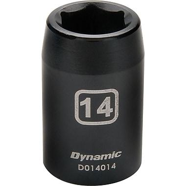 Dynamic Tools – Douilles métriques à chocs 6 pans de 1/2 po, 24 mm, longueur standard