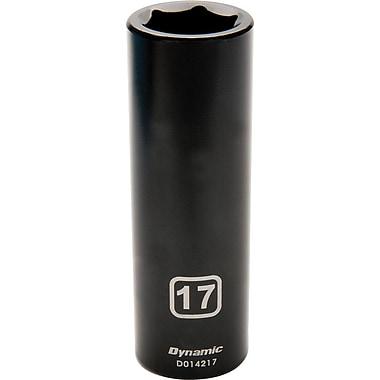 Dynamic Tools – Douille pour clé à choc, 6 pans, profondeur de 11 mm, métrique, à prise de 1/2 po