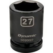 Dynamic Tools – Douilles métriques à chocs 6 pans de 3/4 po, 41 mm, longueur standard