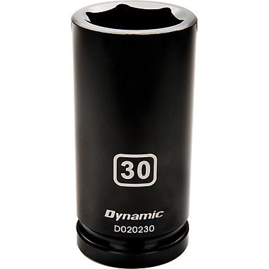 Dynamic Tools – Douille pour clé à choc, 6 pans, profondeur de 43 mm, métrique, à prise de 3/4 po