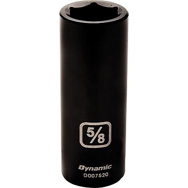 Dynamic Tools – Douilles SAE à chocs 6 pans de 3/8 po, 3/8 po de profondeur