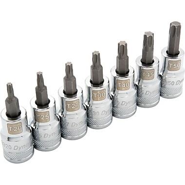 Dynamic Tools – Ensemble de douilles TorxMD standards avec prise de 1/2 po, 7 pièces, T20 et T50