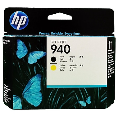 HP 940 Black & Yellow Original Printhead (C4900A)
