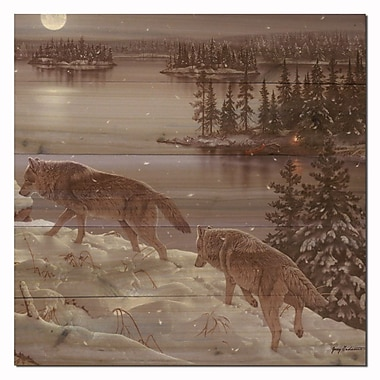 WGI GALLERY Moon Shadow by Jerry Gadamous Graphic Art Plaque; 12'' H x 12'' W x 1'' D