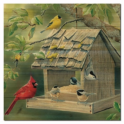 WGI GALLERY Summer Feast by Susan Bourdet Painting Print Plaque; 12'' H x 12'' W x 1'' D