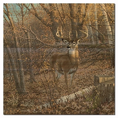 WGI GALLERY Great Eight by Michael Sieve Painting Print Plaque; 12'' H x 12'' W x 1'' D