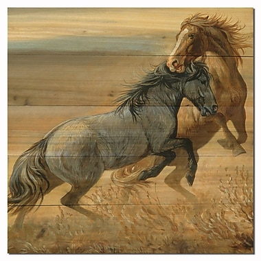 WGI GALLERY Challenged by Persis Clayton Weirs Painting Print Plaque; 24'' H x 24'' W x 1'' D
