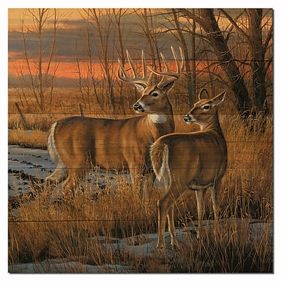 WGI GALLERY Day Break by Rosemary Millette Painting Print Plaque; 12'' H x 12'' W x 1'' D