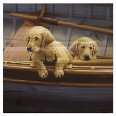 WGI GALLERY The Crew Golden by Ron Bayens Graphic Plaque; 24'' H x 24'' W x 1'' D
