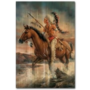 WGI GALLERY Legends of the West by Russ Docken Painting Print Plaque; 24'' H x 16'' W x 1'' D