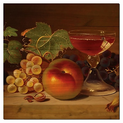 WGI GALLERY Fruit and Cocktail by Shiva Painting Print Plaque; 24'' H x 24'' W x 1'' D