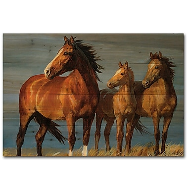 WGI GALLERY On Alert by Persis Clayton Weirs Painting Print Plaque; 8'' H x 12'' W x 1'' D
