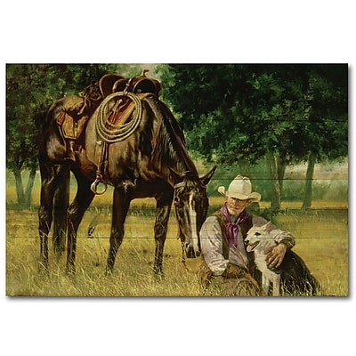 WGI GALLERY All I Need by Brent Flory Painting Print Plaque; 30'' H x 40'' W x 1'' D