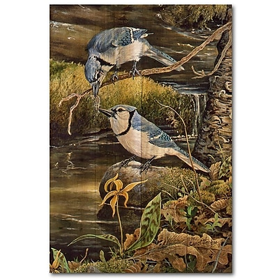 WGI GALLERY Tender Moments by Carol Decker Painting Print Plaque; 12'' H x 8'' W x 1'' D