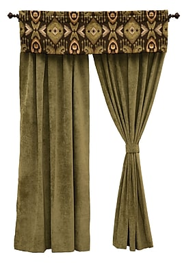 Wooded River Lemongrass Curtain Tieback