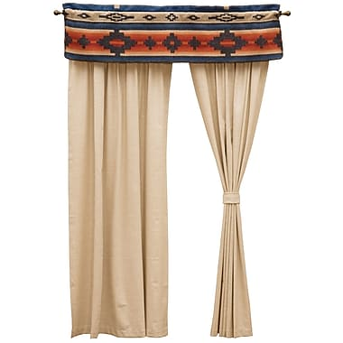 Wooded River Redrock Canyon 60'' Curtain Valance