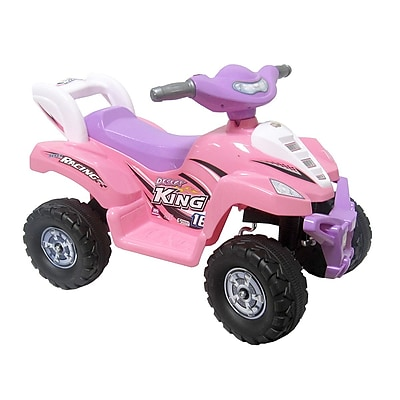 Glopo Pink Quad Battery Powered Car