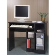 Mylex Student Computer Desk; Black Oak