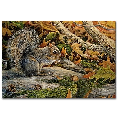 WGI GALLERY Picnic Lunch by Carol Decker Painting Print Plaque; 30'' H x 40'' W x 1'' D