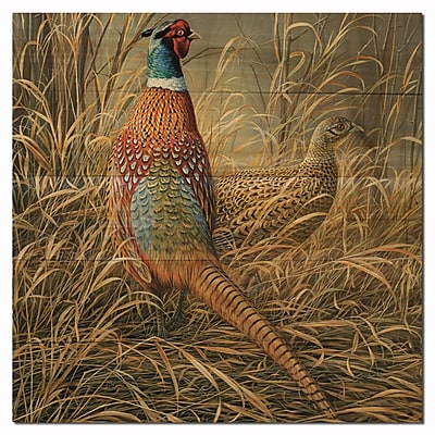 WGI GALLERY Late Season Solitude by Rosemary Millette Painting Print Plaque; 12'' H x 12'' W x 1'' D