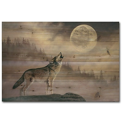 WGI GALLERY Kindred Spirit by Jon Ren Painting Print Plaque; 30'' H x 40'' W x 1'' D