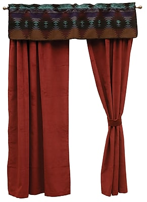 Wooded River Painted Desert II 60'' Curtain Valance