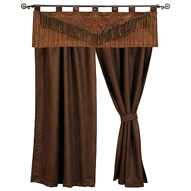 Wooded River Milady 54'' Curtain Valance