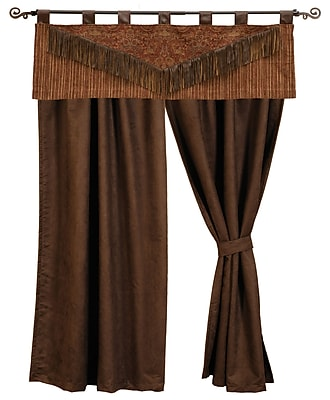 Wooded River Milady Curtain Panels