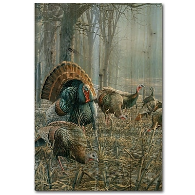 WGI GALLERY Spring Strut by A. Anderson Painting Print Plaque; 12'' H x 8'' W x 1'' D