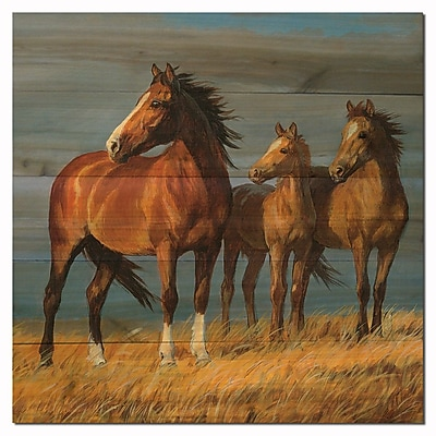 WGI GALLERY On Alert by Persis Clayton Weirs Painting Print Plaque; 24'' H x 24'' W x 1'' D