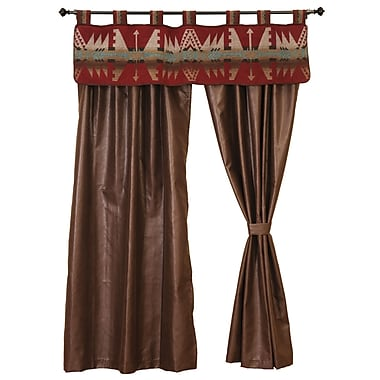 Wooded River Yellowstone II 60'' Curtain Valance