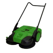 Bissell BigGreen Commercial 31'' Deluxe Triple Brush Push Power Sweeper