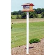 Dura-Trel Inc. Hopper Bird Feeder Post