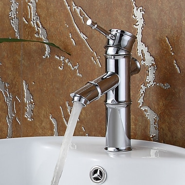 Elite Single Handle Bathroom Faucet; Chrome