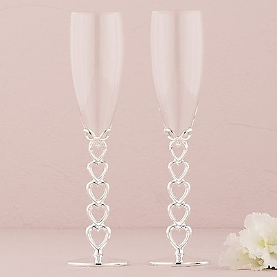 Weddingstar Wedding Toasting Flute Glass (Set of 2)