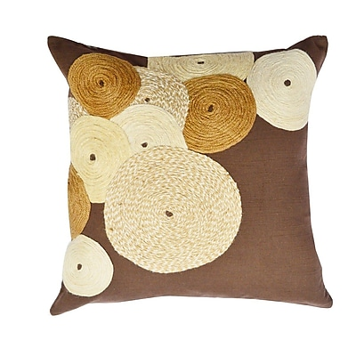 A1 Home Collections LLC Potpourri Dori Cotton Throw Pillow