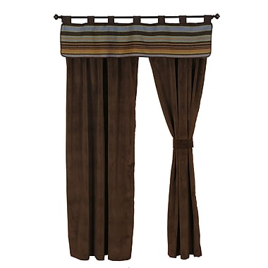 Wooded River Hudson 60'' Curtain Valance