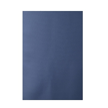 E By Design Solid Blue Indoor/Outdoor Area Rug; 2' x 3'