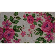 A1 Home Collections LLC Floral Doormat