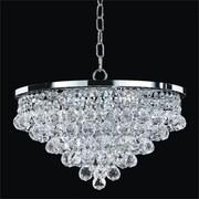 Glow Lighting Vista 5-Light Crystal Chandelier