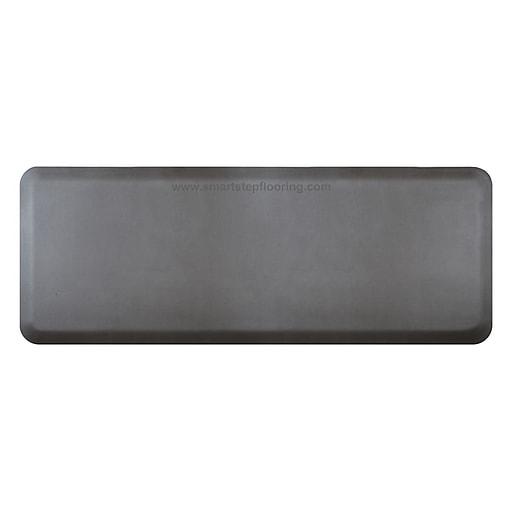 "Smart Step® Supreme Polyurethane Anti-Fatigue Mat, 60"" x 24"", Gray (SS52GRY)"