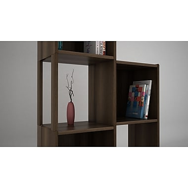 Quagga Designs Qdpostw-m qd-box™ Support Post for Storage Box, Walnut Stain, 2/Pack