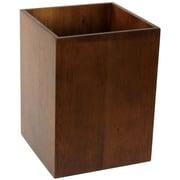 Gedy by Nameeks Cubico Wood Trash Can; Brown