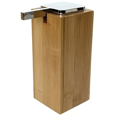 Gedy by Nameeks Cubico Soap Dispenser; Bamboo